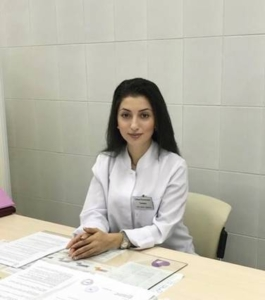 Врач акушер-гинеколог Тагиева Сабина Руслановна