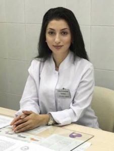 Тагиева Сабина Руслановна, врач акушер-гинеколог
