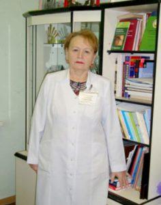 Зав. ГЦДВ Смирнова Татьяна Сергеевна, врач дерматовенеролог высшей категории, кандидат медицинских наук